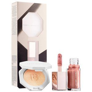 New Fenty Beauty Bomb Baby Mini Lip and Face Set